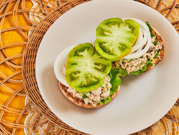 Tuna-Salad Sandwich, Julia Child Style